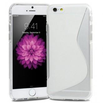 Coque iPhone 6 en Silicone gel Tranparente