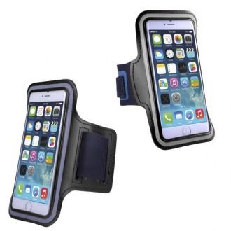 Brassard sport iPhone 6 Pus Néoprène Noir