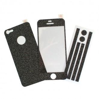 Film iPhone 5/5S protection écran avec décoration avant-arrière