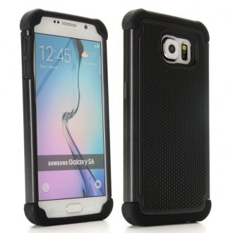 Coque Galaxy S6 Anti-choc Noire