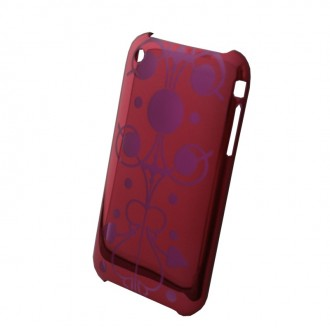 Coque iPhone 3G / 3GS rouge effet miroir