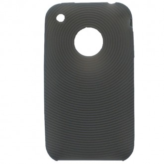 Coque iPhone 3G / 3GS Silicone Gris