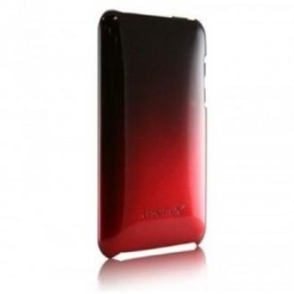 Coque iPod Touch 2 et 3 Plastique Rouge dégradé