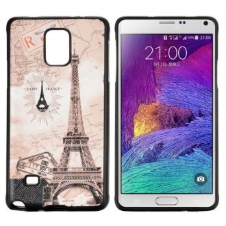 Coque Galaxy Note 4 motif Tour Eiffel