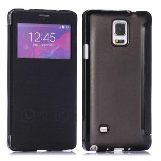 Etui flip Galaxy Note 4 Noir