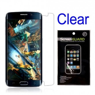 Film Galaxy S6 Edge protection transparent