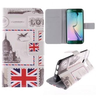 Crazy Kase - Etui Galaxy S6 Edge Motif Drapeau UK