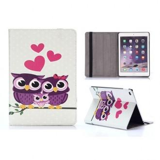 Etui iPad Air 2 motif Couple de Chouette
