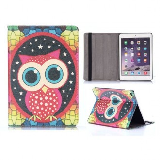 Etui iPad Air 2 motif Chouette