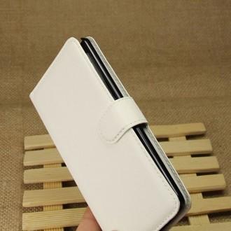 Crazy Kase - Etui LG G3 Simili-cuir Blanc