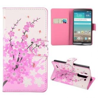 Crazy Kase - Etui LG G3s Motif Fleur Japonnaise