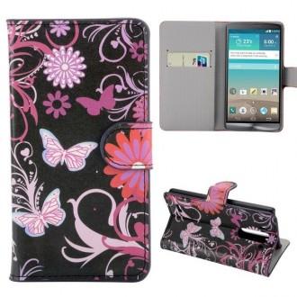Crazy Kase - Etui LG G3s Motif Papillons et Fleurs