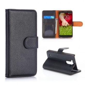 Crazy Kase - Etui LG G3s Simili-cuir Noir