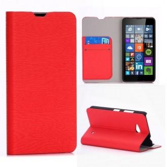 Crazy Kase - Etui Microsoft Lumia 640 Rouge