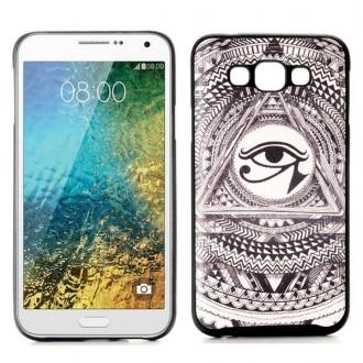 Crazy Kase - Coque Galaxy E7 motif Oeil Oudjat