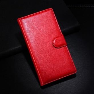 Crazy Kase - Etui Xperia E3 Simili-cuir Rouge