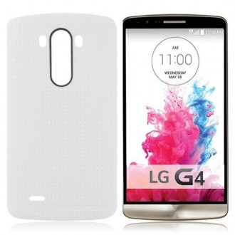 Crazy Kase - Coque LG G4 en TPU Blanc