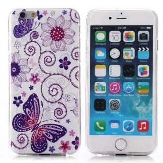 Crazy Kase - Coque iPhone 6 Plus motif Papillons et Fleurs
