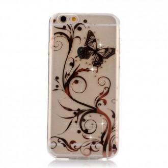 Crazy Kase - Coque iPhone 6 motif Papillons et Fleurs