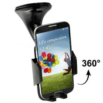 Support voiture Universel Rotatif 360° pour Smartphone