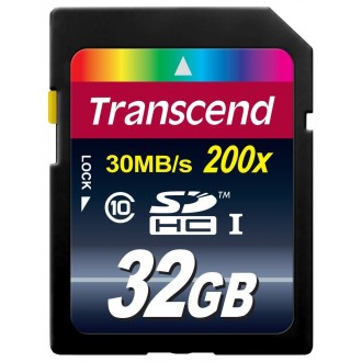 Carte Micro SDHC 32GB UHS-1 Class10 - Transcend