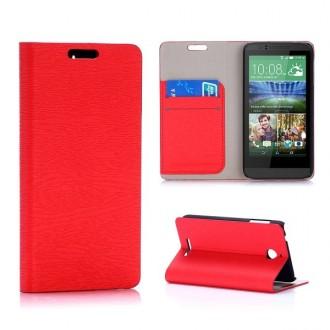 Crazy Kase - Etui HTC Desire 510 Rouge