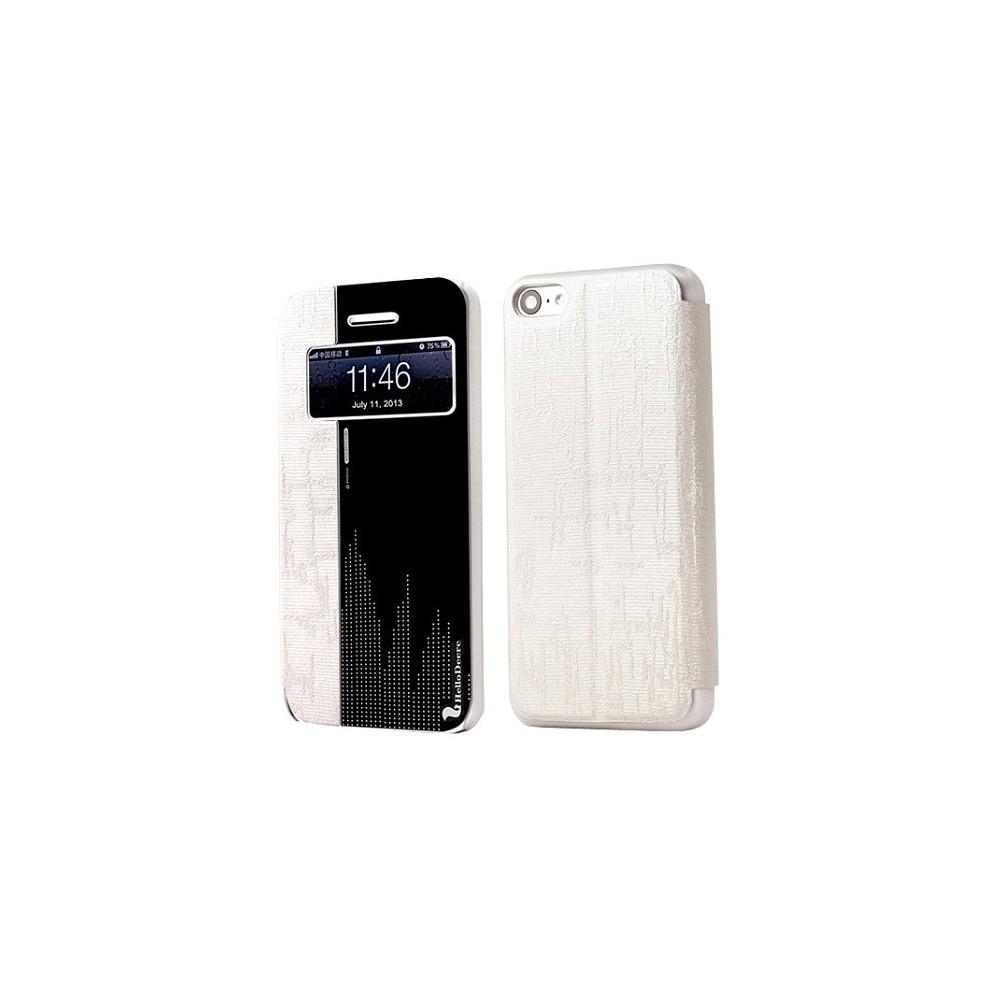Etui iphone 5c blanc et effet miroir der for Effet miroir photo iphone