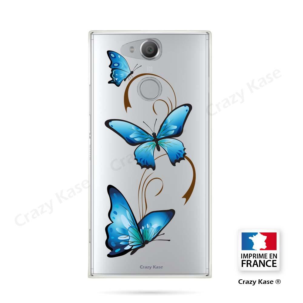 Coque papillon sur arbasque