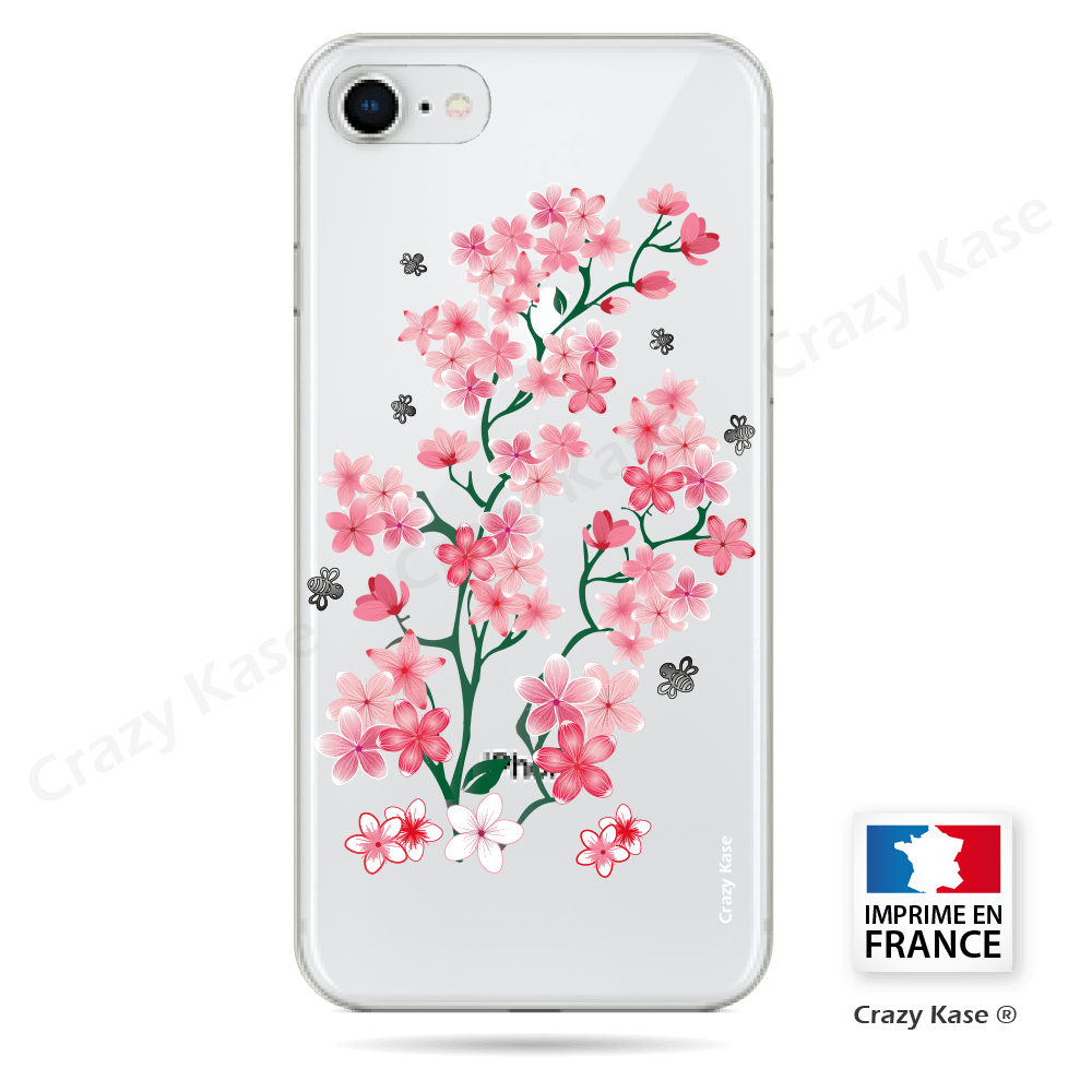 Coque fleurs de cerisiers