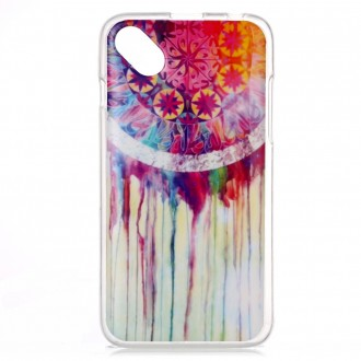 Coque Wiko Sunset 2 motif Attrape Rêves Coloré - Crazy Kase