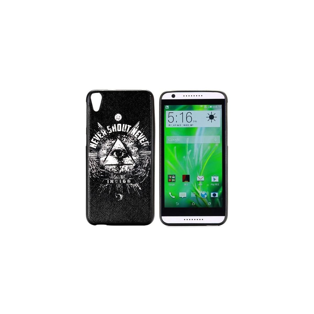 Coque HTC Desire 820 motif Oeil Oudjat - Crazy Kase