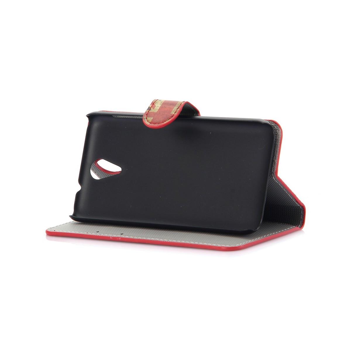 Etui HTC Desire 620 motif Drapeau UK - Crazy Kase