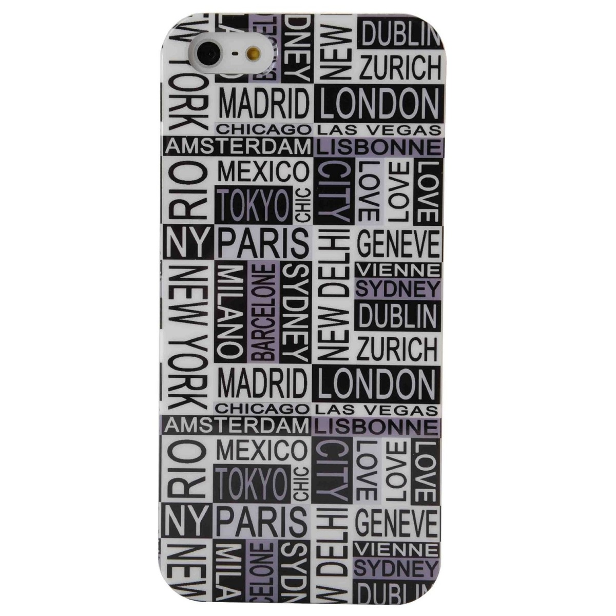 Coque iPhone SE / 5 / 5S modèle Love My City - Akashi