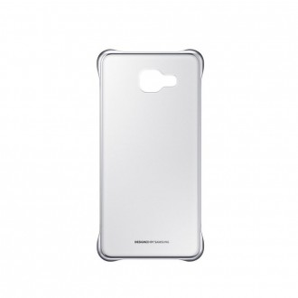 Coque Galaxy A5 (2016) Rigide Transparente contour Argenté - Samsung