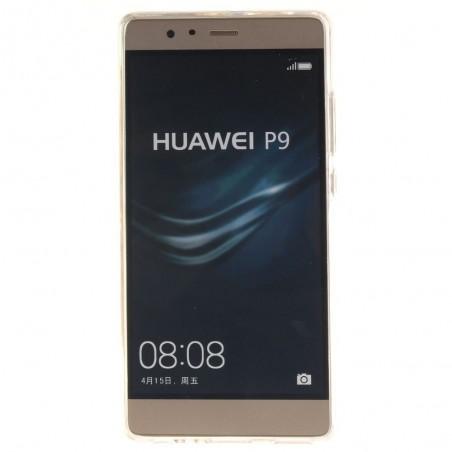 Coque Huawei P9 motif Plume et Oiseaux Rouge - Crazy Kase