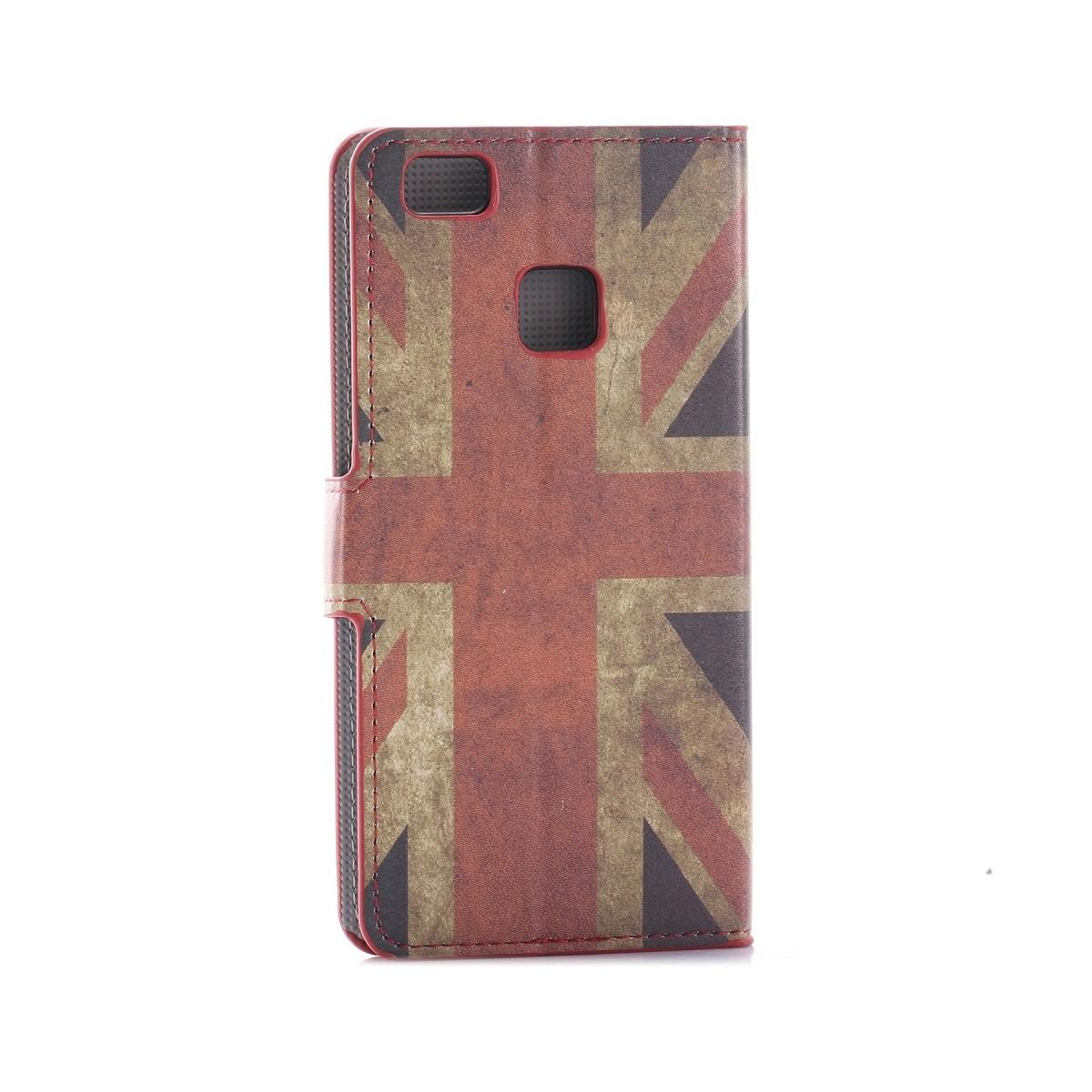 Etui Huawei P9 Lite motif Drapeau UK - Crazy Kase
