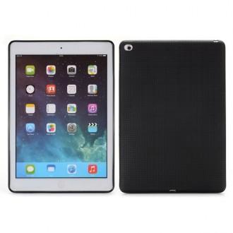 Coque iPad Air 2 Silicone Noire - Crazy Kase
