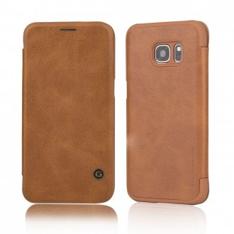 Etui Galaxy S7 Business Series Marron - G-Case