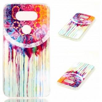 Coque LG G5 motif Attrape Rêves Coloré - Crazy Kase