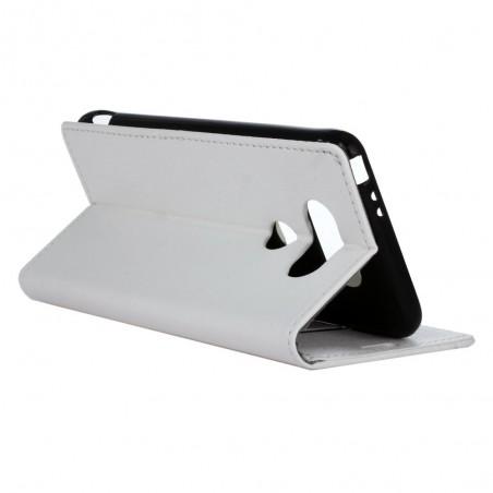 Etui LG G5 Portecartes Blanc - Crazy Kase