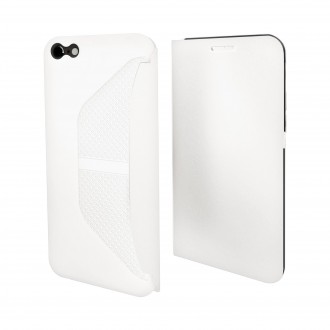 Etui iPhone 6 / 6S Easy Folio Blanc - Muvit