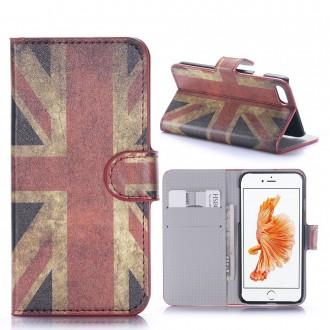 Etui iPhone 7 motif Drapeau UK - Crazy Kase