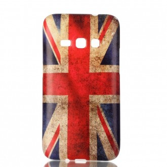 Coque Galaxy J1 (2016) motif Drapeau UK - Crazy Kase