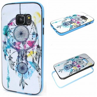 Coque Galaxy S7 motif Attrape Rêves Coloré - Crazy Kase