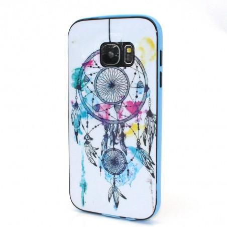 Coque Galaxy S7 motif Attrape Rêves Coloré - Crazy Kase