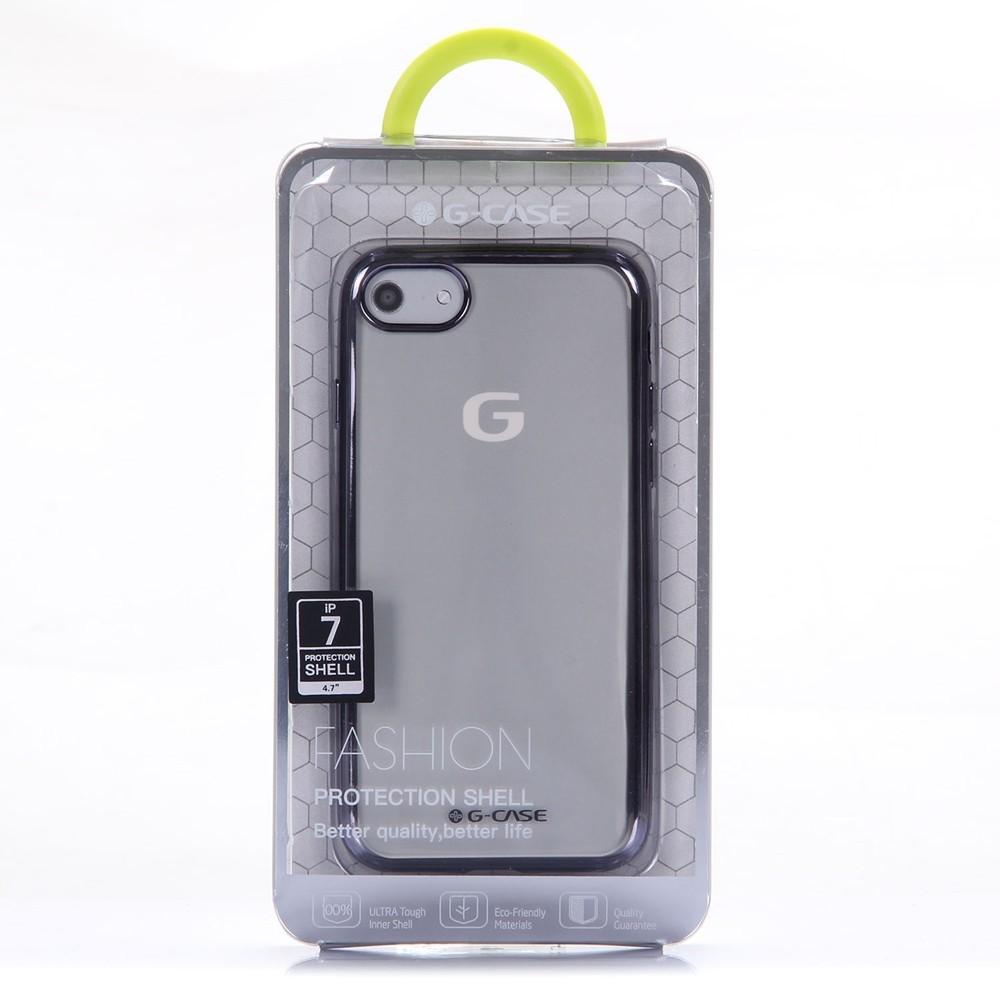 coque iphone 7 transparente noir