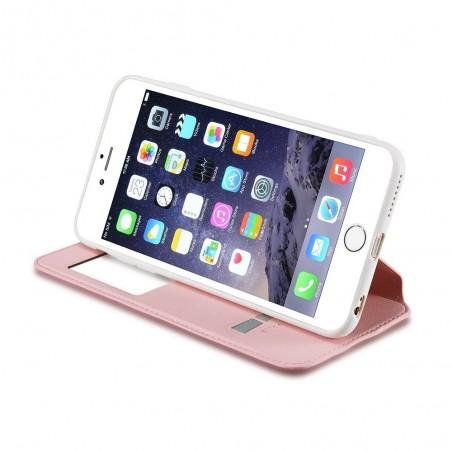 Etui iPhone 6 Plus / 6S Plus Blanc avec fenêtre - G-Case