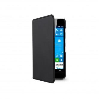 Etui Microsoft Lumia 550 Porte-cartes Noir - Muvit