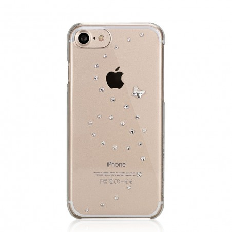 Coque iPhone 7 Papillon Pure Brillance Strass Cristal Swarovski - Bling My Thing