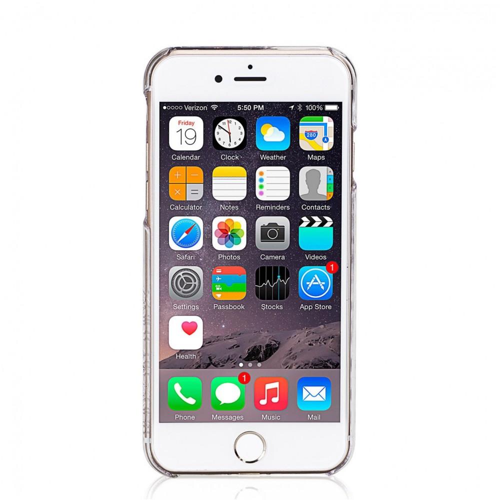 Coque iPhone 7 Hermitage Jet Strass Cristal et Noir Swarovski - Bling My Thing